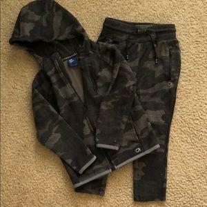 Gap Fit Boys matching sweat suit